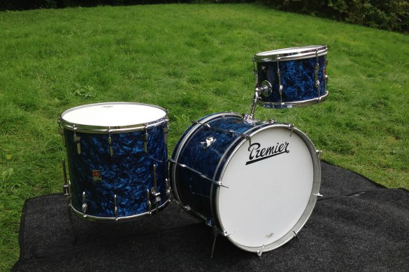 1960's Premier Blue Diamond Pearl