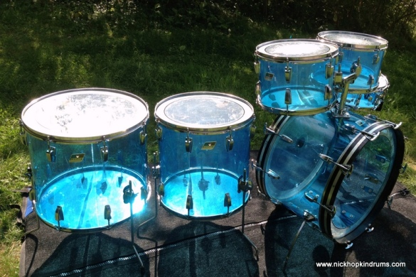 Ludwig Blue Vistalite