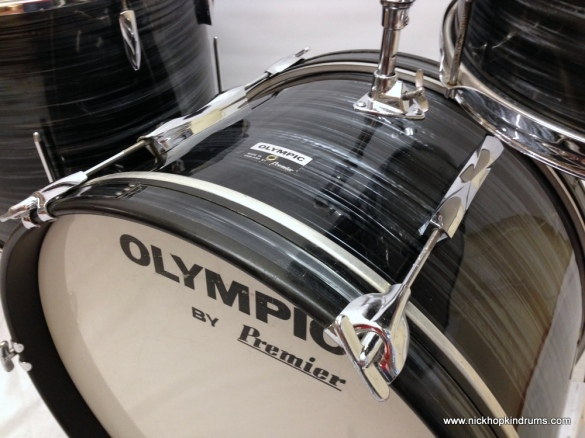 1970's Olympic drum kit 20,12,16