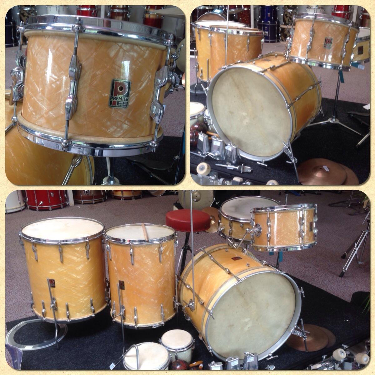 vintage premier drum kit vintage drums legendary sounds. Black Bedroom Furniture Sets. Home Design Ideas