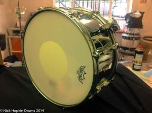 Premier 2003 snare drum