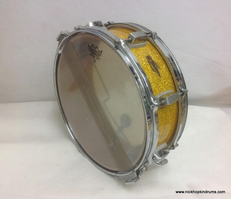 trixon 1 440 snare drum vintage drums legendary sounds. Black Bedroom Furniture Sets. Home Design Ideas