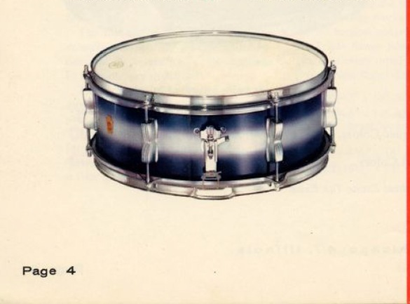 Ludwig pioneer 1960 catalogue