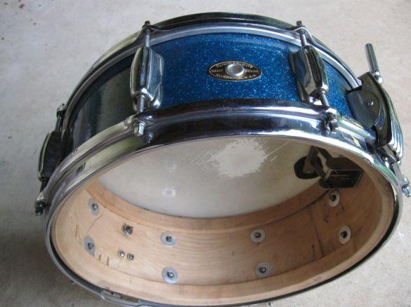 radio king blue glitter interior