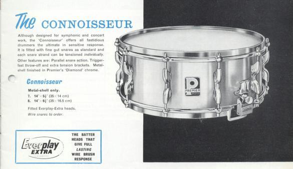Premier Connoisseur repair – Vintage Drums Legendary Sounds