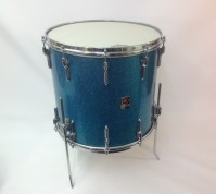 Pre 1967 Premier floor tom 10 lugs showing badge