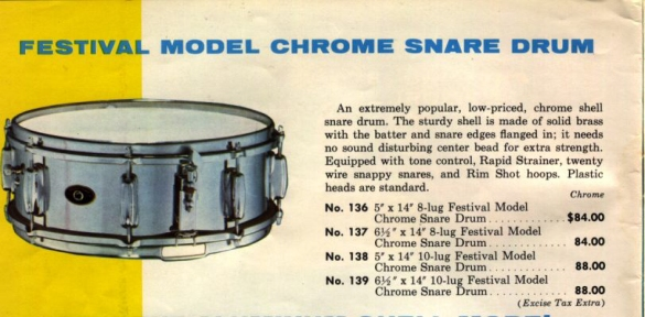 Slingerland1964 catalogue