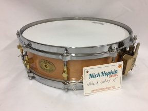 noble-cooley-solid-maple-shell-snare-drum-at-nick-hopkin-drums