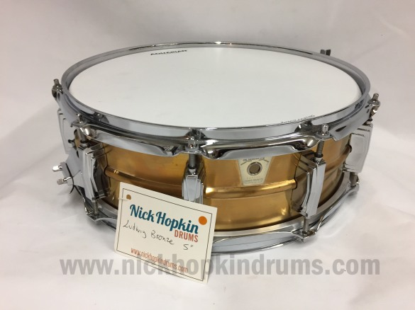Ludwig Bronze Supraphonic at Nick Hopkin Drums