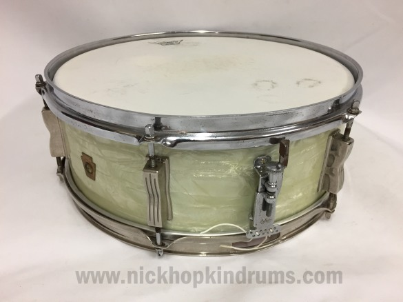 nick-hopkin-drums-ludwig-pioneer-snare-drum-early-1960s