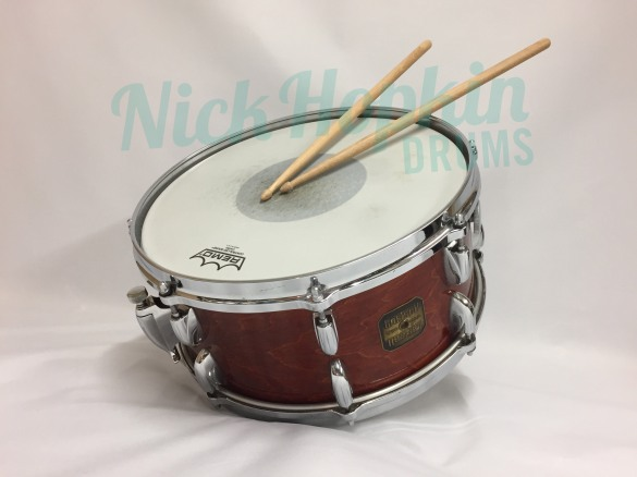 Gretsch 4153 snare drum available at Nick Hopkin Drums www.nickhopkindrums.com