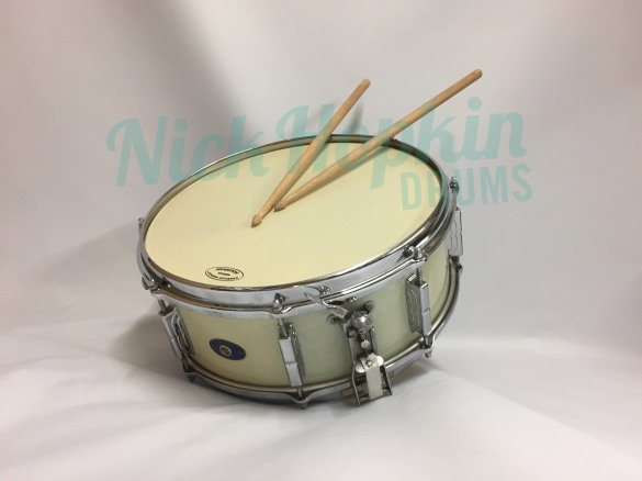 Leedy Shelly Manne Snare drum available at Nick Hopkin Drums www.nickhopkindrums.com