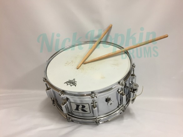Rogers Super Ten 6.5 snare drum available at Nick Hopkin Drums www.nickhopkindrums.com