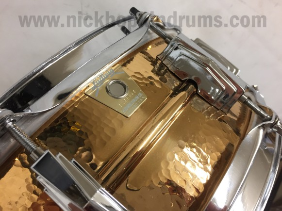 Ludwig Hammered Brass SS 5 -3