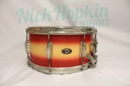 Slingerland Radio King 14x7 snare drum available at Nick Hopkin Drums www.nickhopkindrums.com