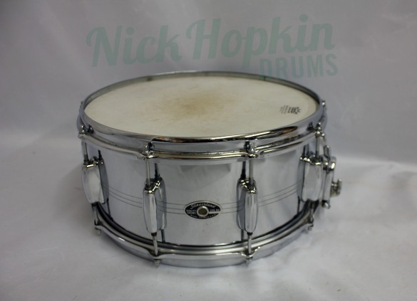Slingerland Sound King 6.5 snare drum available at Nick Hopkin Drums, www.nickhopkindrums.com