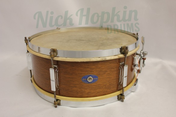 Leedy Utility snare drum late 1950's at Nick Hopkin Drums, www.nickhopkindrums.com