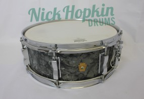 Ludwig Jazz Festival snare pre serial black diamond pearl at Nick Hopkin Drums www.nickhopkindrums.com