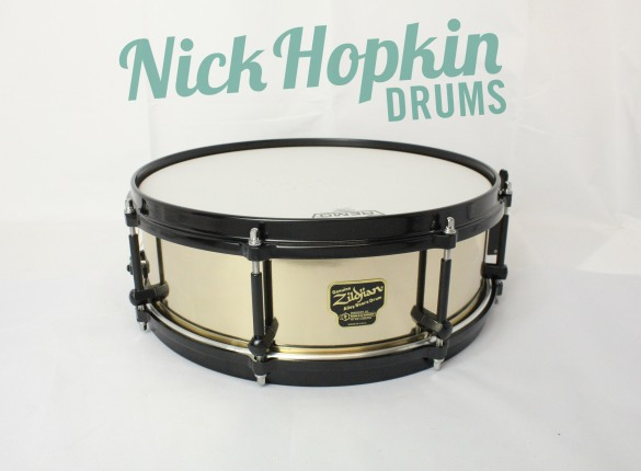 Noble & Cooley Zildjian Alloy snare drum 14x4.75 at Nick Hopkin Drums www.nickhopkindrums.com