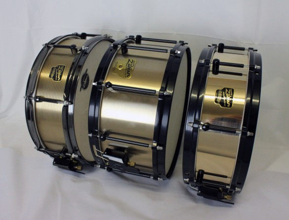 Noble & Cooley Zildjian Alloy snare drums available at Nick Hopkin Drums